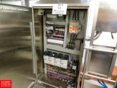 Control Panel For Blenders, With Allen Bradley Power Flex VFD'S And S/S Panel Rigging Fee: $280