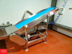 """Flexicon 14"""" x 95"""" Belt Conveyor With 2 HP, 1,700 RPM Rigging Fee: $140"""