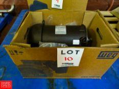 (NEW) WEG 7.5 HP 3,480 RPM Motor Rigging Fee: $35