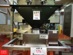 Fortress Phantom S/S Flow Through Metal Detector, With Feed Hopper Rigging Fee: $560