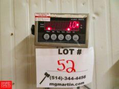 "48"" x 48"" Platform Scale, Model: BO5TS Rigging Fee: $70"