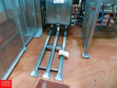 Pemberton S/S Tote Lifter, Motor LL/96, 575 Volts, S/N: 2081133-OR Rigging Fee: $700