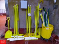 Assorted Food Grade Cleaning Supplies, Rigging Fee: $35
