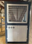 NEW NEVER INSTALLED Blast Freezer Condensing Unit with Bitzer Scroll 4-Stage 125 HP Freon Compressor