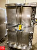 Bakers Pride S/S Double Oven Model: 455BCOGN1. Rigging Fee: $250