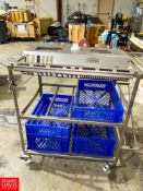 Vemag S/S Tool Cart. Rigging Fee: $75