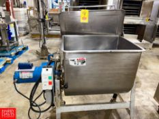 """S/S Blender Mounted On Casters, 19"""" X 19"""" x 23"""". Rigging Fee: $250"""