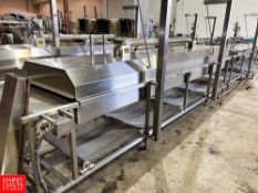"""MBC Food Machinery Corp, S/S Pasteurizer, With 36"""" S/S Belt, Controls, And Blower, Aprox 33' Long"""