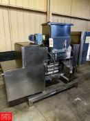 S/S Pasta Mixer / Laminator Location: Mt. Pleasant, Pennsylvania, United States Rigging Fee: $350