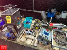 Air Actuated Ball Valves, S/S Mixer Fill Tubes, S/S Feeders, And Controls Location: Mt. Pleasant,