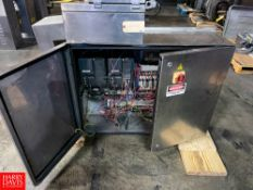 S/S Electrical Panel, With (2)Variable Frequency Drive's And Relays Location: Mt. Pleasant,