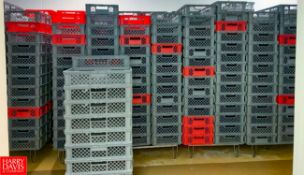 Food Grade Plastic Baskets Location: Hayward, CA Rigging Fee: $200
