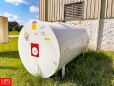 NEW 2019 Southern Tank And Manufacturing Inc. 1,500 Gallon S/S Horizontal Dual Wall Storage Tank,