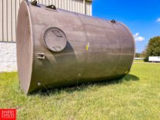 NEW 2019 Southern Tank and Manufacturing Inc. 12,000 Gallon S/S Vertical Conical Top Single Shell