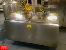 Cherry Burrell 2-Compartment (600 Gallons Per Compartment) Insulated S/S Flavor Tank, With