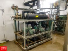 Delta Heat Transfer, Water Cooled Freon Condensing Package Model: 2DEW-HSN5363-30-S41, S/N: 30192