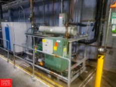 Bitzer Water Cooled Freon Condensing Package Model: DTWS-HSN7461-S42. S/N: 23976