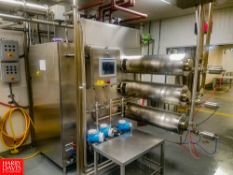 2015 WCB V603 3-Barrel Ice Cream Freezer, with Remote Electrical Panel, PLC Overrun Controls, And