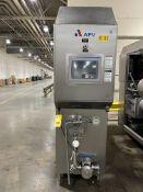 APV S/S Ice Cream Freezer Model: WS108G, S/N N0212, With Allen Bradley Panel View Controls