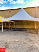 Anchor Fiesta Frame High Peak Tent 20' x 20'