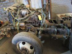 V8 Motor & Transmission on Frame