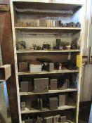 6 Shelf Rack with Tooling for Cincinnati Dial Type Mill