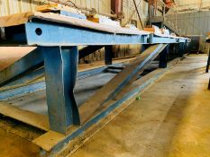 """Heavy I-Beam table with 1"""" Solid Plate Top"""
