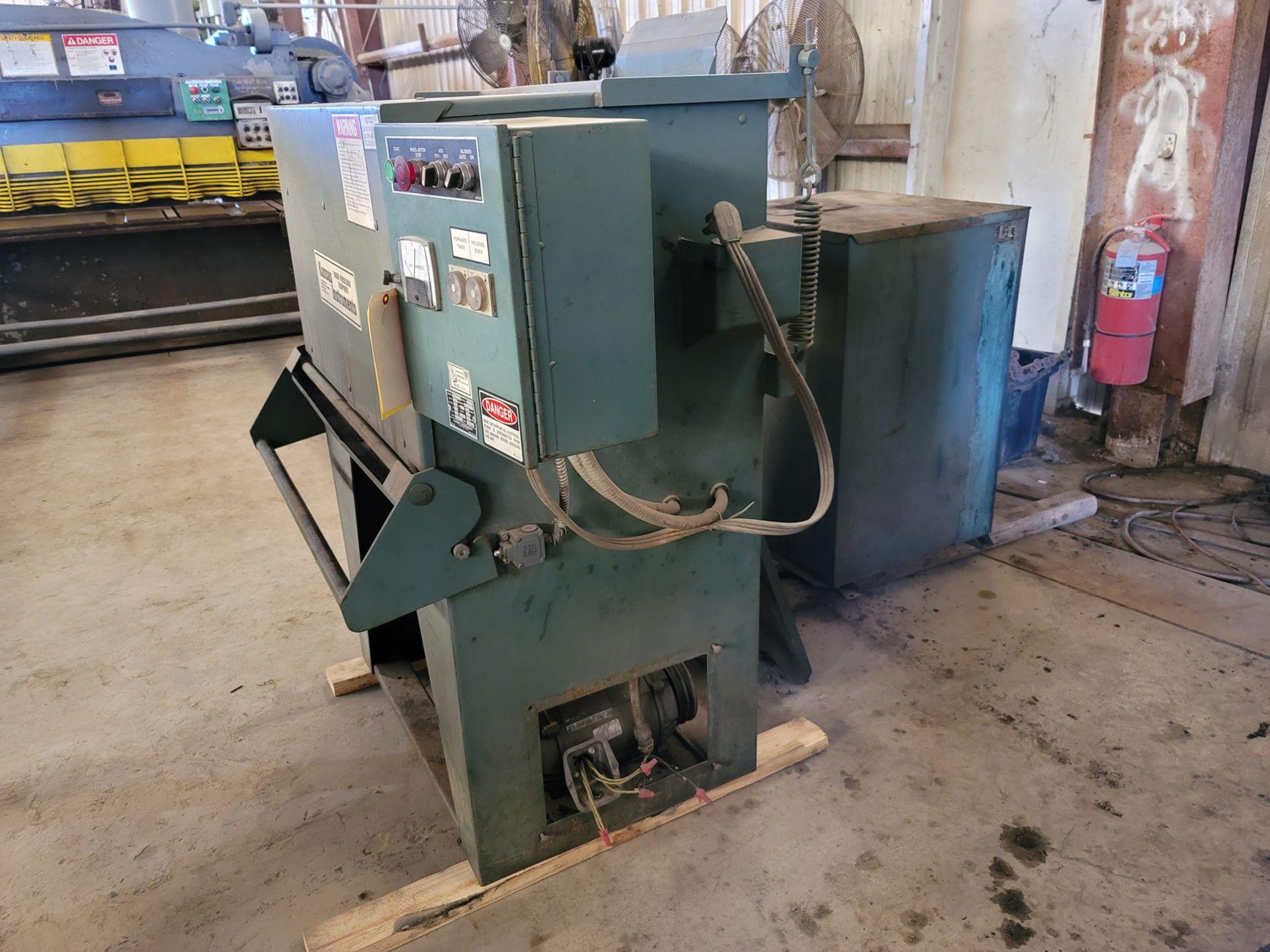 Kansas Instruments Model AB-502B Bake / Blast / Tumble Machine - Image 8 of 12