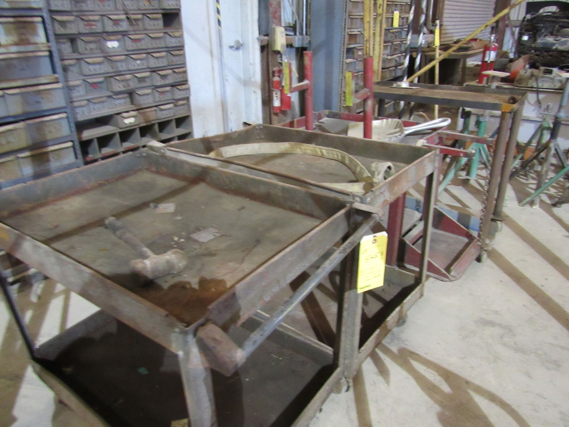 Lot of 4: Shop Carts - Image 2 of 2