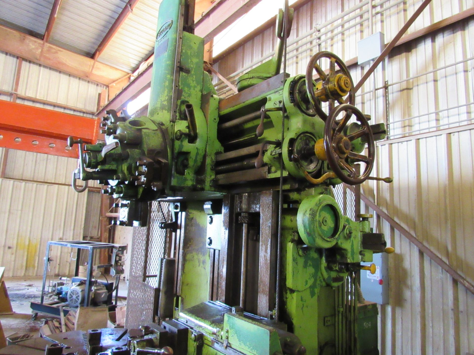 "54"" Bullard Vertical Turret Lathe - Image 6 of 6"