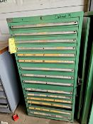 Lista 15 Drawer Tool Cabinet with Contents