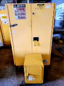 Lot of 2: Flammable Cabinets
