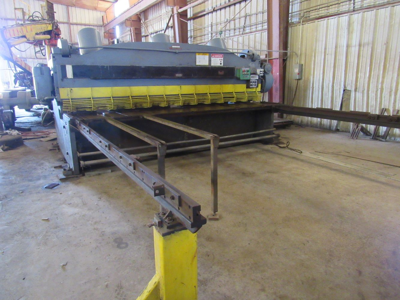 Complete Plant Support and Maintenance Machine & Fabrication Shop - New Date May 18