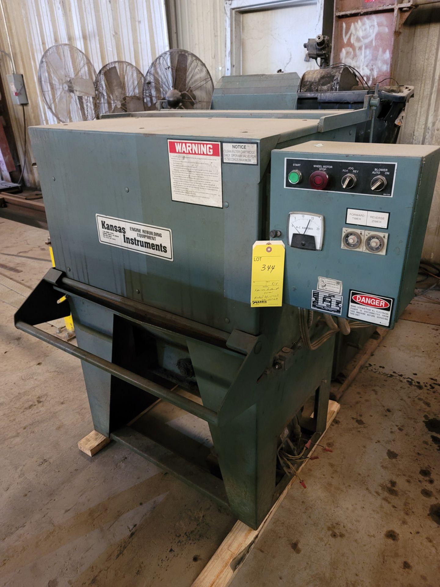 Kansas Instruments Model AB-502B Bake / Blast / Tumble Machine