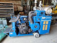 Blastrac Gas Powered Floor Cleaner