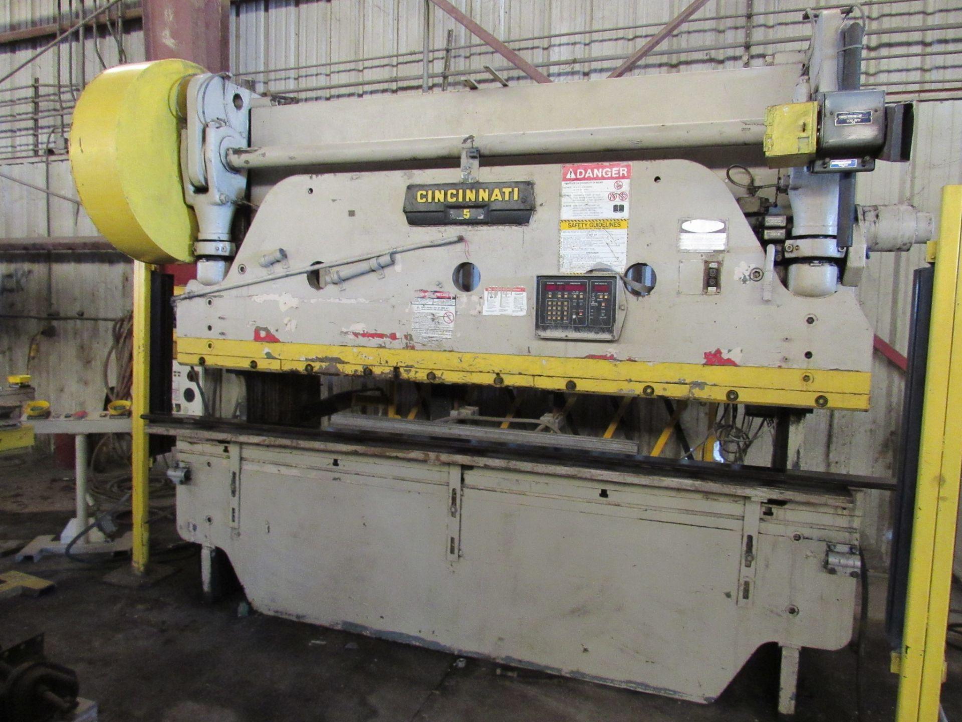 Cincinnati No. 5 Mechanical Press Brake