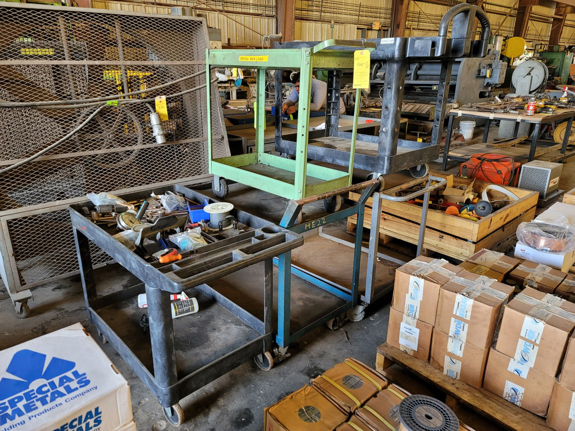 Lot of 5: Shop Carts - Image 2 of 4