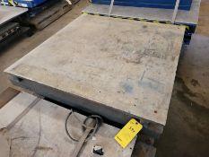 4500 Lb. Lee Model XL36-50-MOD Scissor Lift Table