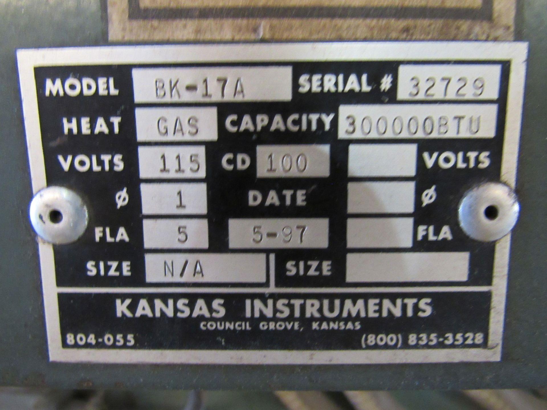 Kansas Instruments Model BK-17A Oven - Image 4 of 8