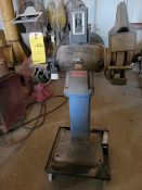 Baldor Bench Grinder on Stand with Casters