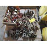 Lot: Assorted Chain Hooks
