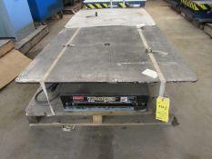 2500 Lb. Autoquip Model 36S25SR4 Lift Table
