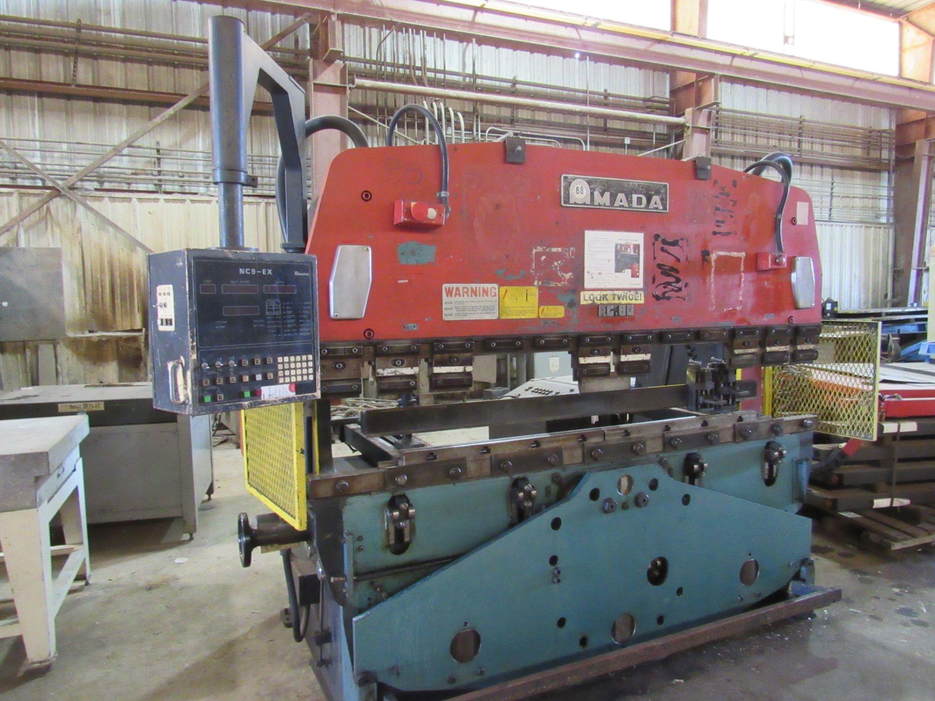 Amada 80 Ton RG 80 Press Brake - Image 2 of 7