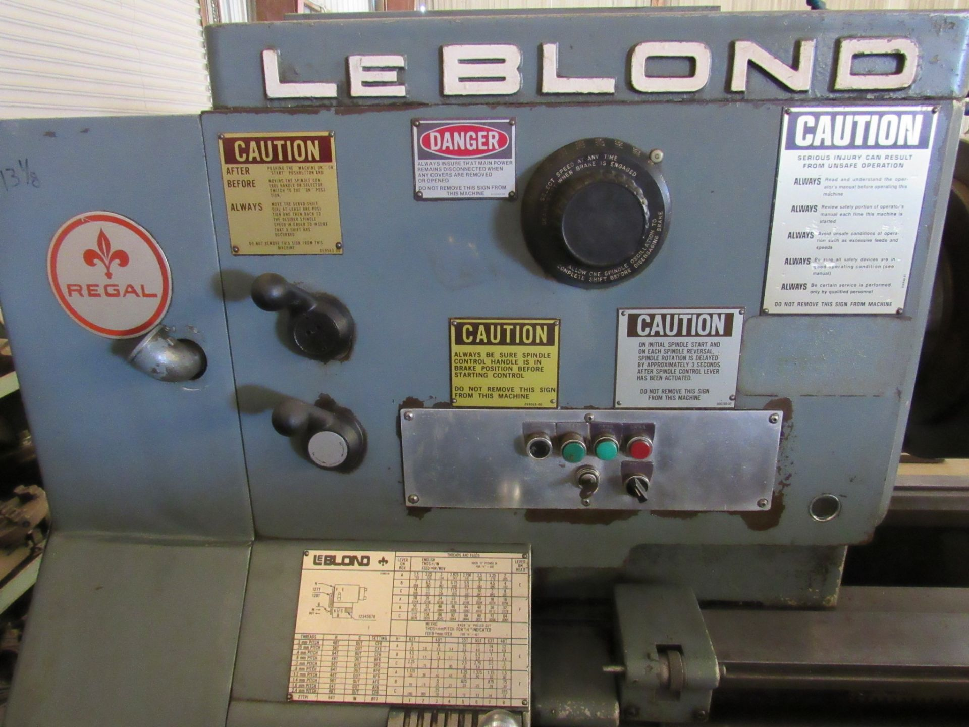 "26"" x 96"" LeBlond Regal Engine Lathe - Image 3 of 6"
