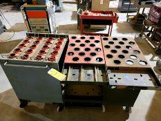 Lot of (3) Tool Carts; (2) Huot Carts, (1) Equipto Cart
