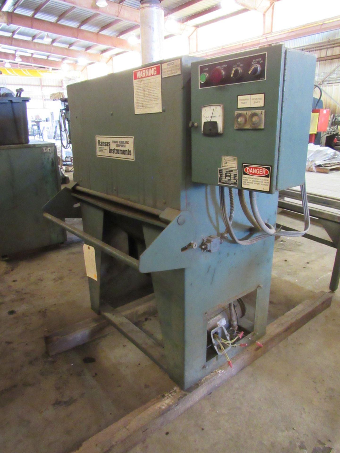 Kansas Instruments Model AB-502B Bake / Blast / Tumble Machine - Image 2 of 12