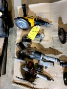 Lot of 4 Pneumatic Tools
