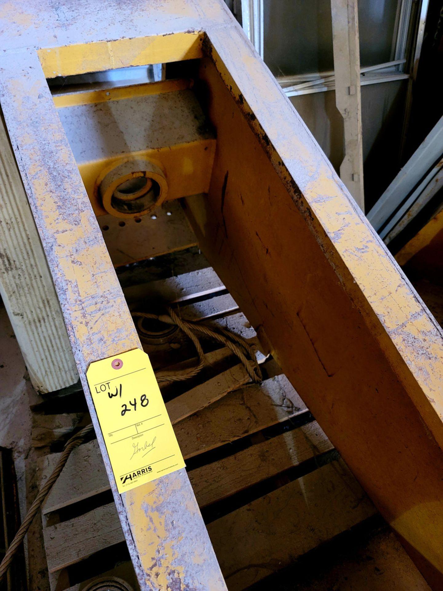 Gorbel 2 Ton Jib Crane with 2 Ton Lodestar CM Hoist - Image 7 of 7