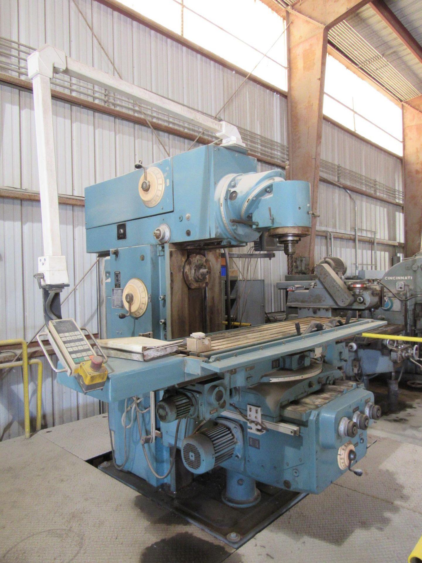 WMW Heckert Universal Mill - Image 3 of 7