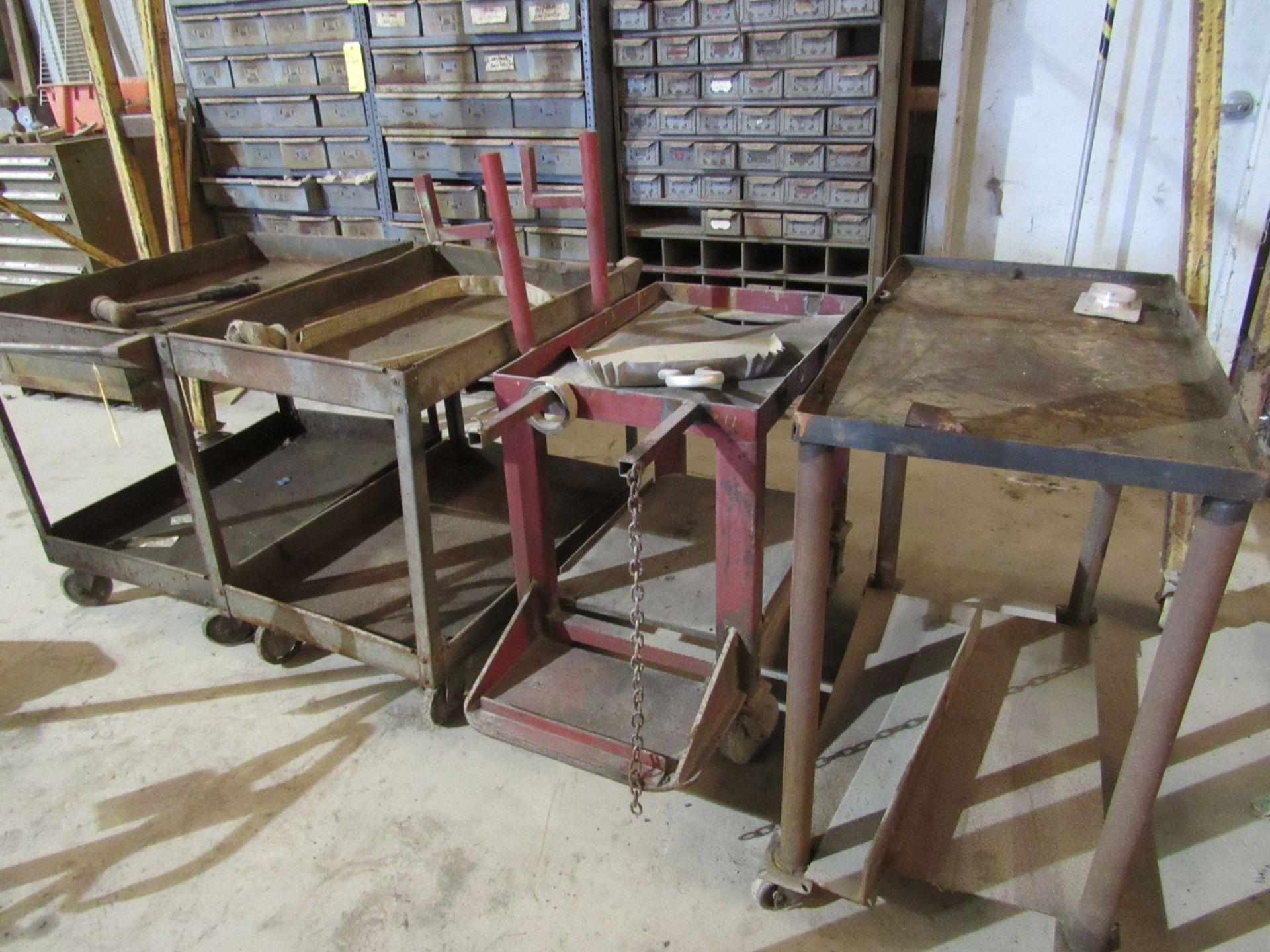 Lot of 4: Shop Carts